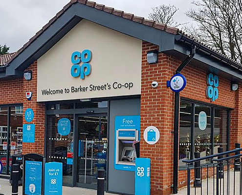Fascia and Soffit chosen for supermarket