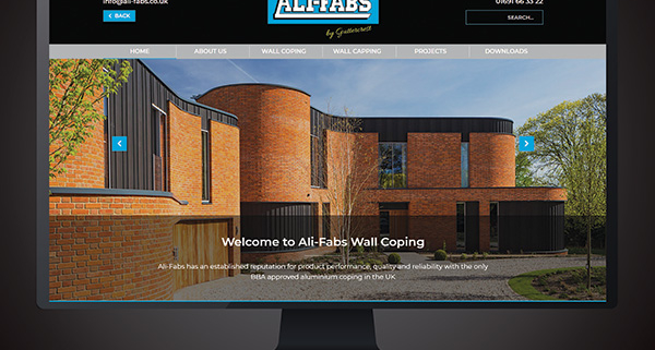 Ali-fabs aluminium copings and cappings website launch