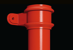 traditional round downpipes