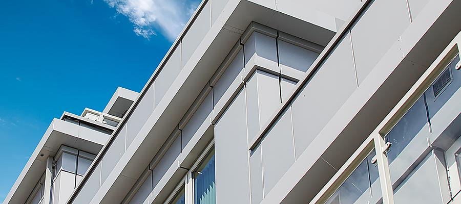 Tailor-made deep filled aluminium box gutters
