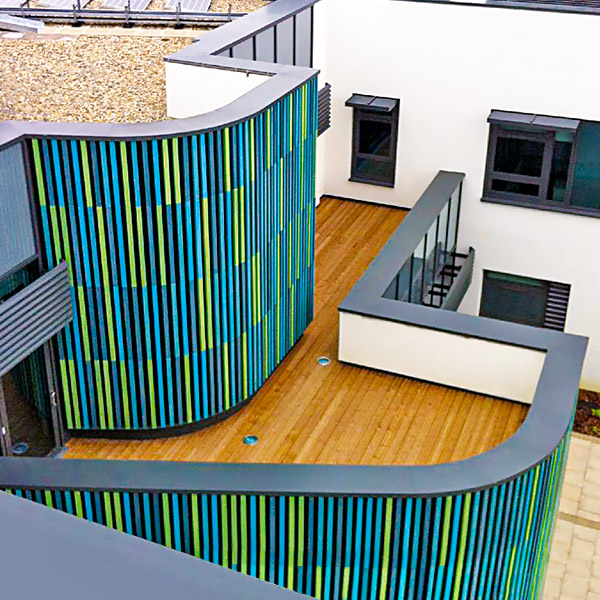 aluminium curved coping finchley