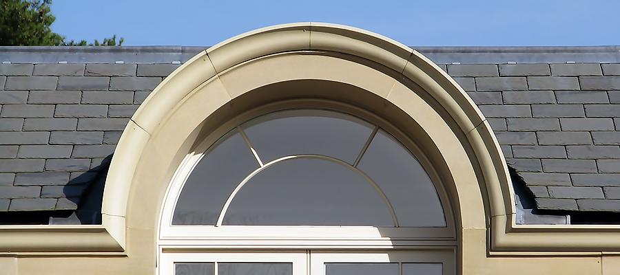 Bespoke stone effect gutters