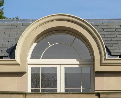 bespoke design aluminium stone finish moulded ogee
