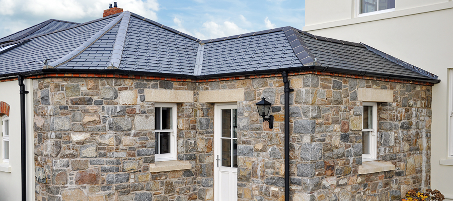 cast iron effect guttering and downpipes