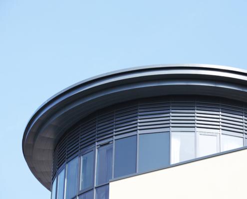 guttercrest aluminium arrowhead soffits and cladding panels