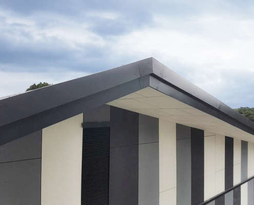 guttercrest aluminium shaped profile fascia portadown