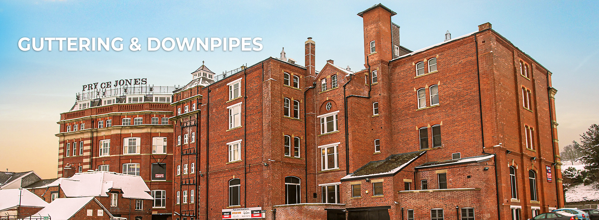 Guttering and Downpipes Pryce Jones
