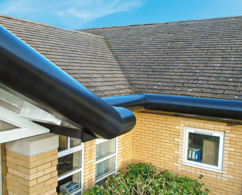 High Security Bullnose Fascia with Raked External Angle Corners