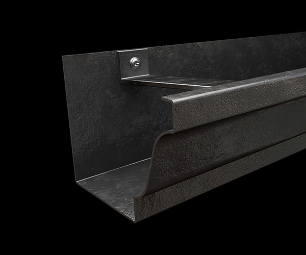 Cast Iron Finish Gutter