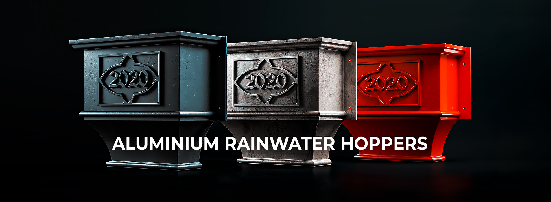 Guttercrest Custom-made Cast Aluminium Rainwater Hoppers